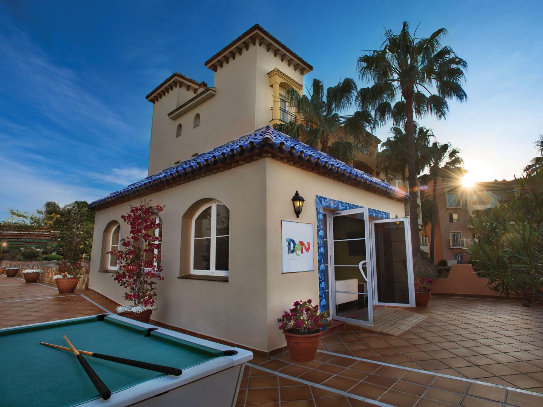 Marriott's Marbella Beach Resort The Den. Marriott's Marbella Beach Resort is located in Marbella,  Spain.