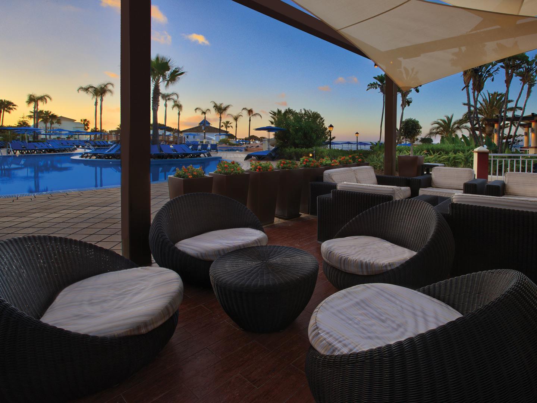 Marriott's Marbella Beach Resort Chill Bar. Marriott's Marbella Beach Resort is located in Marbella,  Spain.