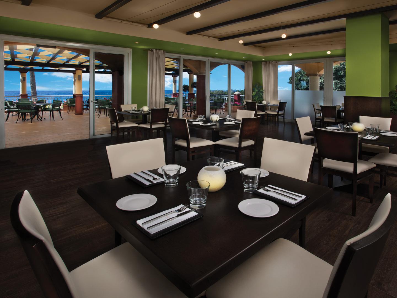 Marriott's Marbella Beach Resort El Med Restaurant. Marriott's Marbella Beach Resort is located in Marbella,  Spain.