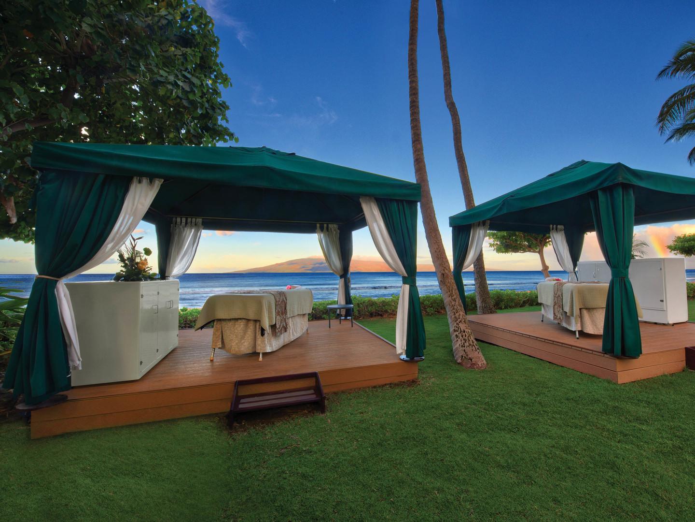 Marriott's Maui Ocean Club - Molokai, Maui, and Lanai Towers Spa By The Sea. Marriott's Maui Ocean Club - Molokai, Maui, and Lanai Towers is located in Lāhainā, Maui, Hawai'i United States.