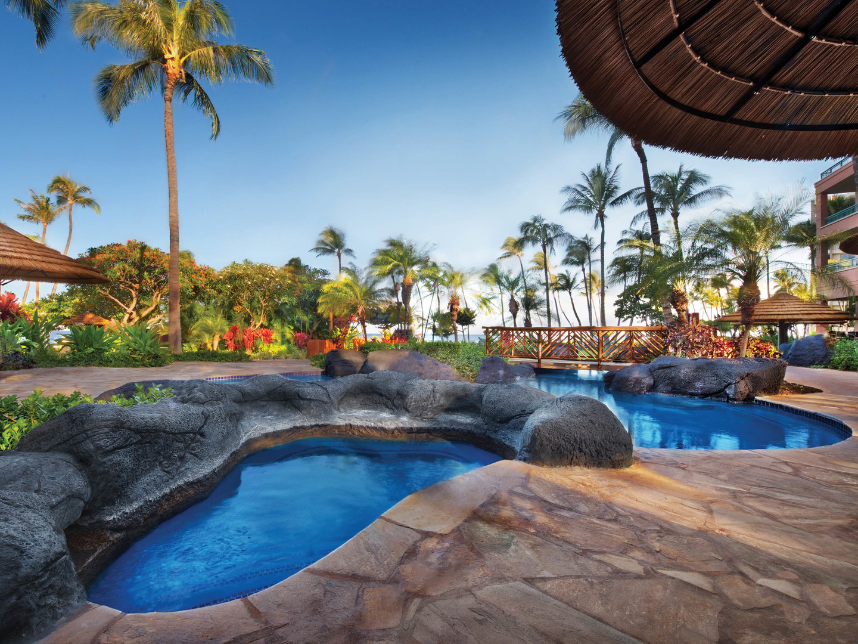 Marriott's Maui Ocean Club - Molokai, Maui, and Lanai Towers Whirlpool Spa. Marriott's Maui Ocean Club - Molokai, Maui, and Lanai Towers is located in Lāhainā, Maui, Hawai'i United States.