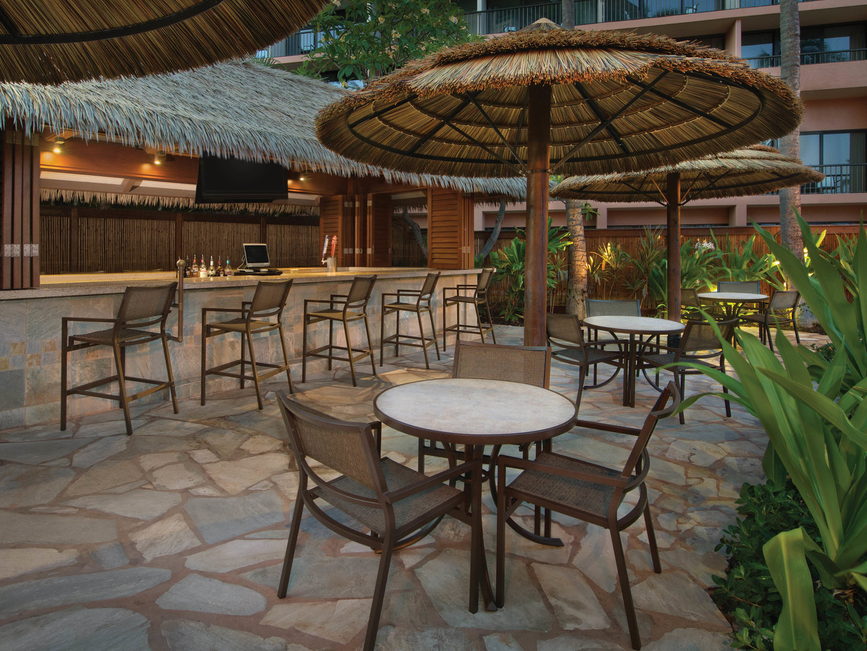 Marriott's Maui Ocean Club - Molokai, Maui, and Lanai Towers Makai Tiki Bar. Marriott's Maui Ocean Club - Molokai, Maui, and Lanai Towers is located in Lāhainā, Maui, Hawai'i United States.