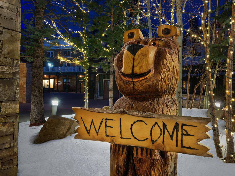 Marriott's MountainSide Resort Exterior. Marriott's MountainSide is located in Park City, Utah United States.