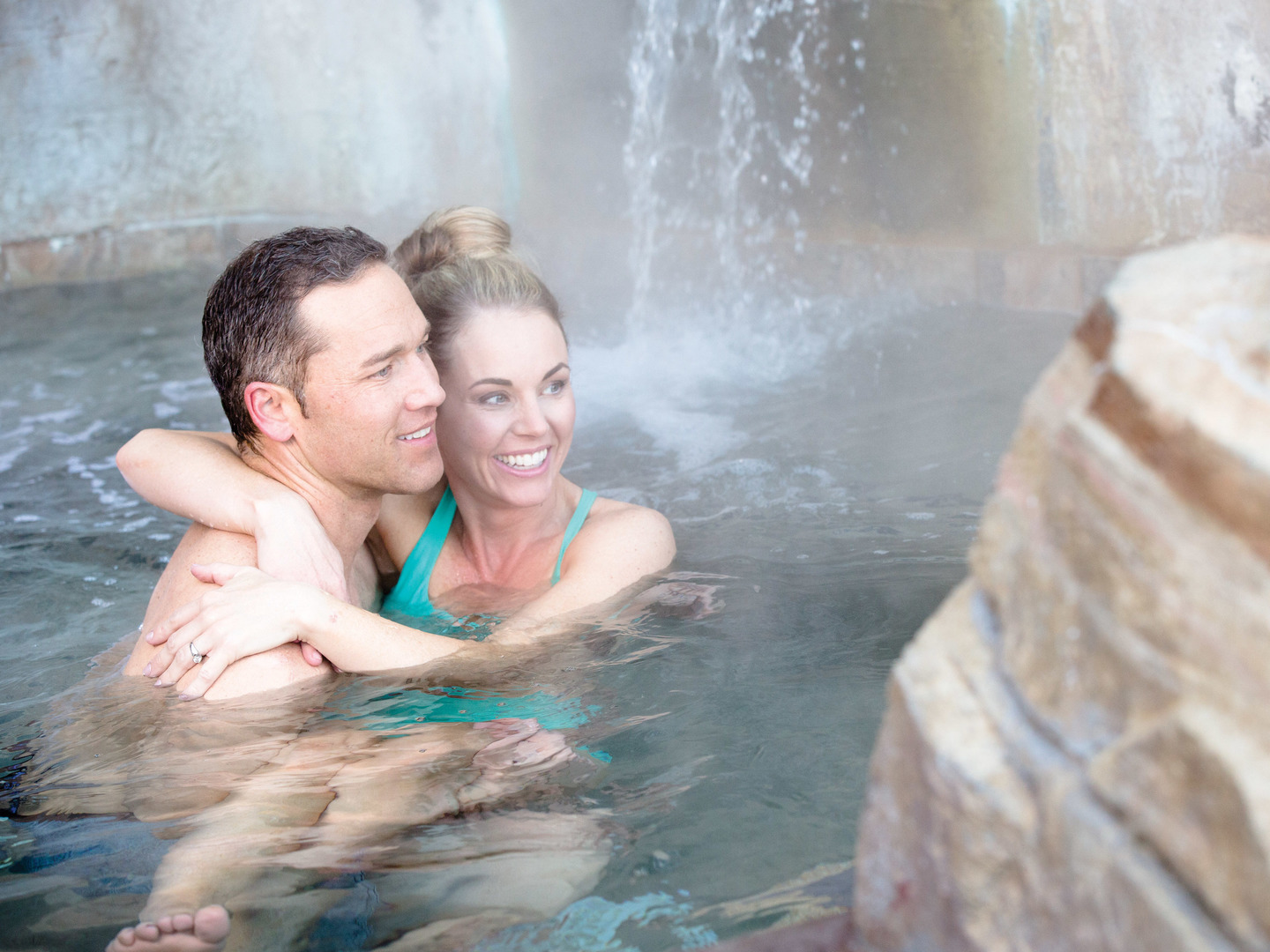 Marriott's MountainSide Hot Tub. Marriott's MountainSide is located in Park City, Utah United States.