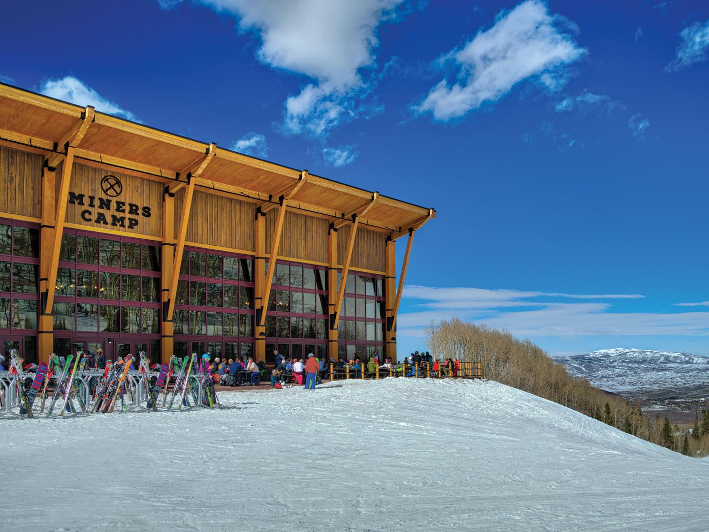 Marriott's MountainSide Miner's Camp Gondola Lodge. Marriott's MountainSide is located in Park City, Utah United States.