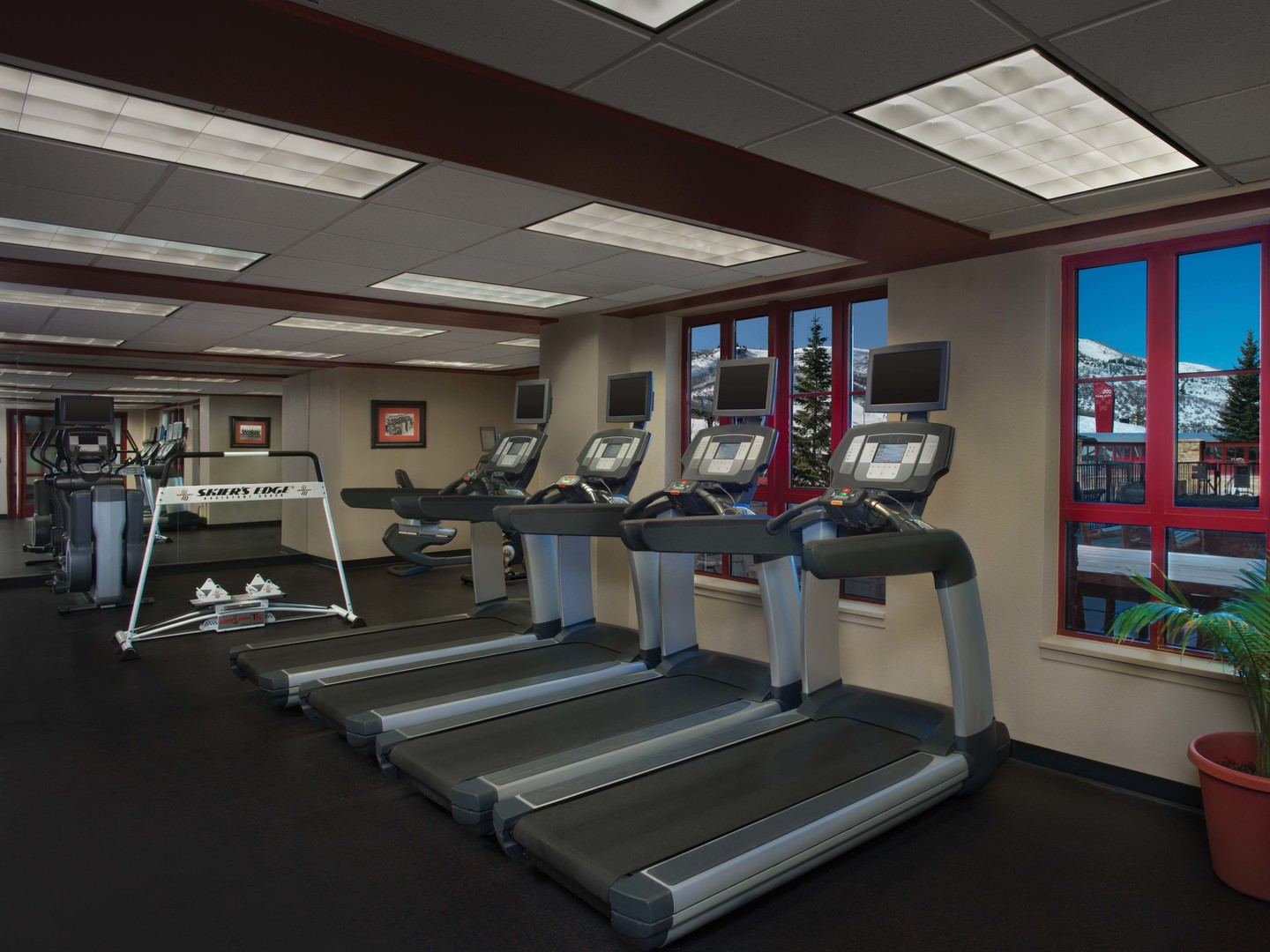 Marriott's MountainSide Fitness Center. Marriott's MountainSide is located in Park City, Utah United States.