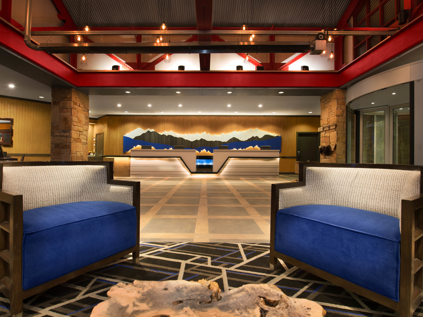 Marriott's MountainSide Lobby. Marriott's MountainSide is located in Park City, Utah United States.