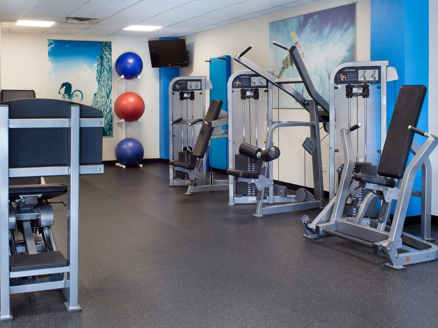 Marriott's Mountain Valley Lodge Fitness Center. Marriott's Mountain Valley Lodge is located in Breckenridge, Colorado United States.
