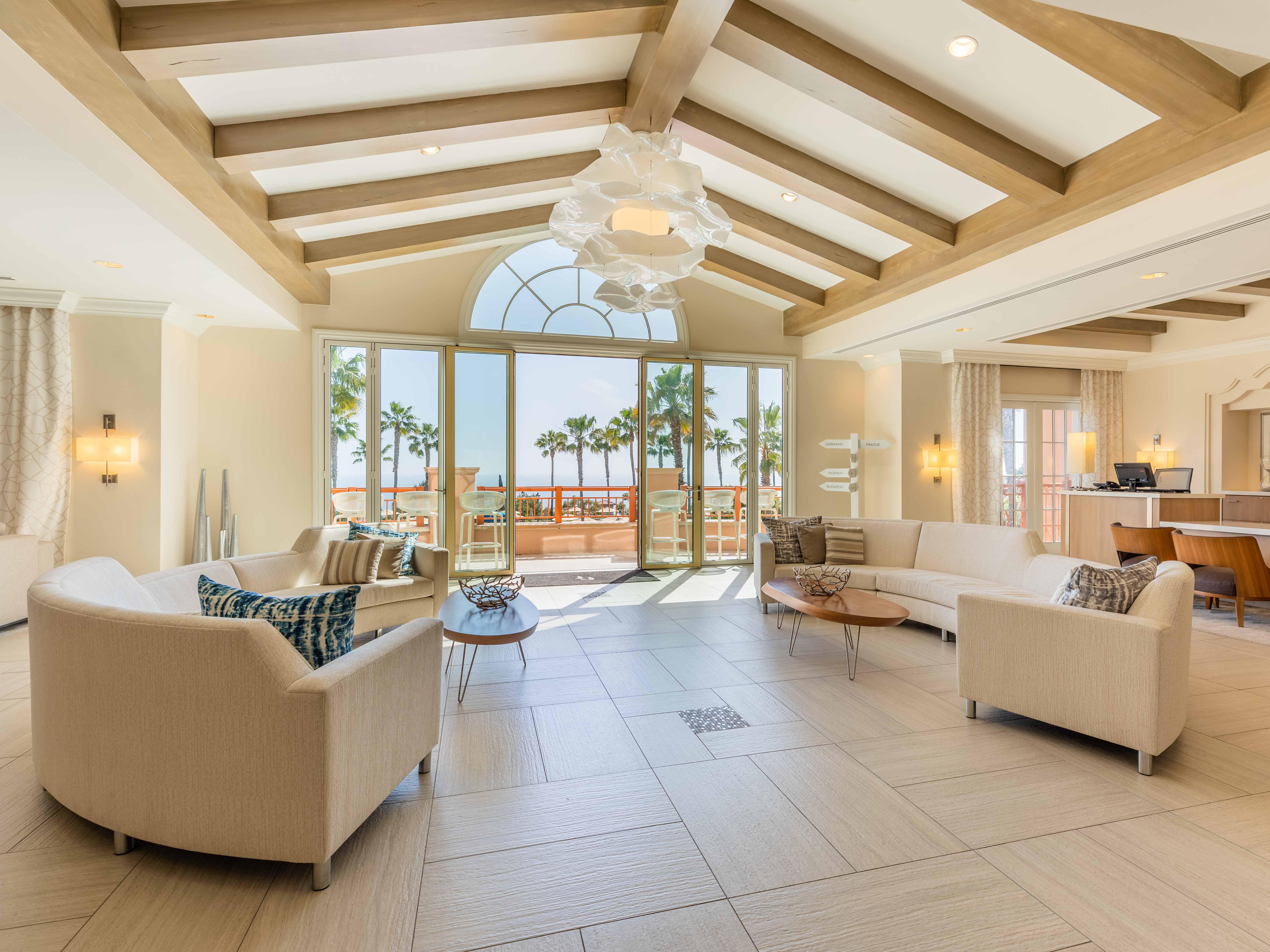Marriott's Newport Coast<span class='trademark'>®</span> Villas Resort Lobby. Marriott's Newport Coast<span class='trademark'>®</span> Villas is located in Newport Coast, California United States.