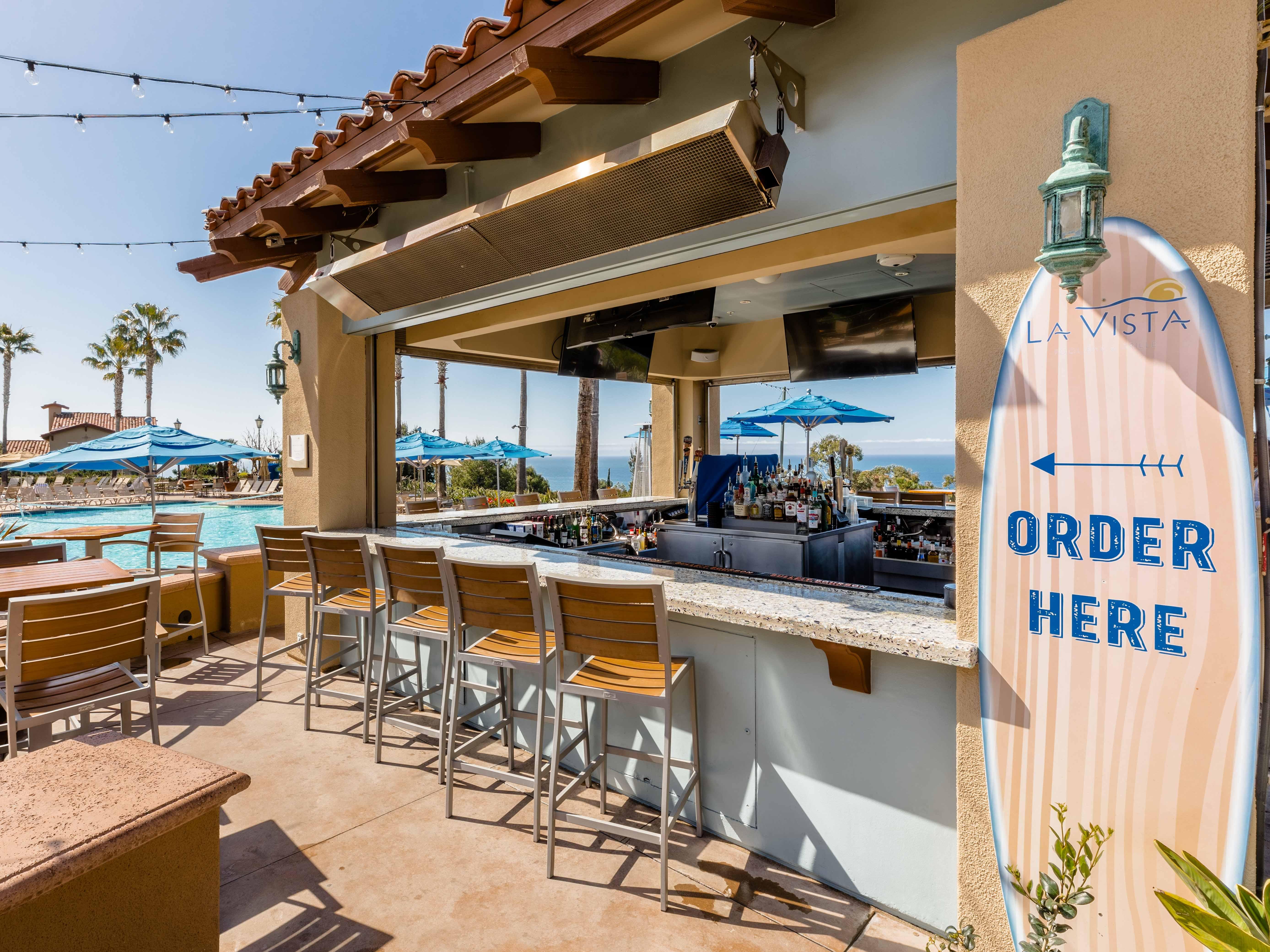 Marriott's Newport Coast<span class='trademark'>®</span> Villas La Vista Poolside Bar & Grill. Marriott's Newport Coast<span class='trademark'>®</span> Villas is located in Newport Coast, California United States.