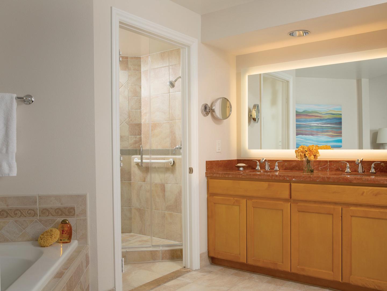 Marriott's Newport Coast<span class='trademark'>®</span> Villas Villa Master Bathroom. Marriott's Newport Coast<span class='trademark'>®</span> Villas is located in Newport Coast, California United States.