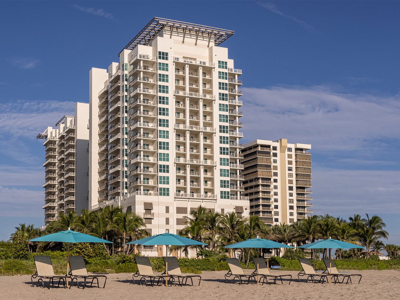 Marriott's Oceana Palms Exterior. Marriott's Oceana Palms is located in Riviera Beach, Florida United States.
