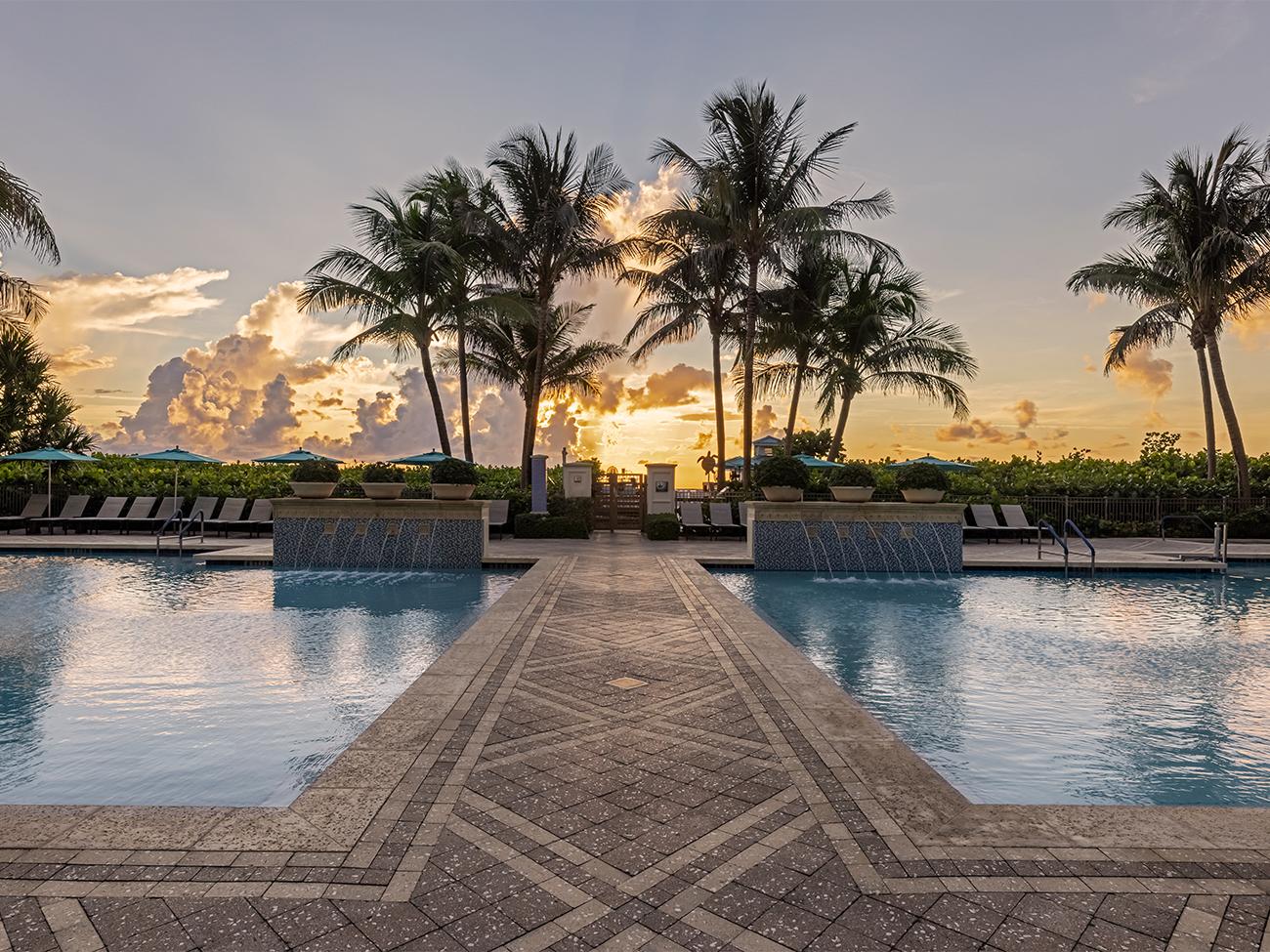 Marriott's Oceana Palms Main Pool. Marriott's Oceana Palms is located in Riviera Beach, Florida United States.