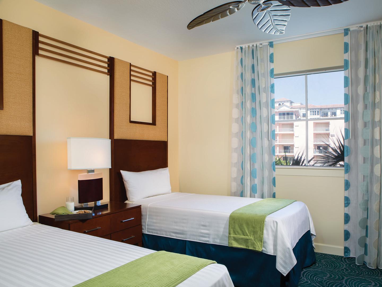 Marriott's Ocean Pointe Villa Guest Bedroom. Marriott's Ocean Pointe is located in Palm Beach Shores, Florida United States.