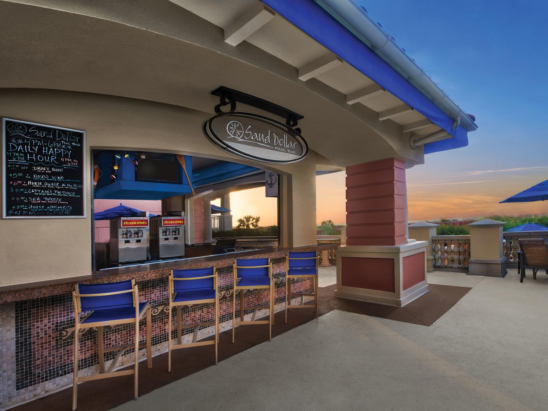 Marriott's OceanWatch Sand Dollar Bar. Marriott's OceanWatch is located in Myrtle Beach, South Carolina United States.