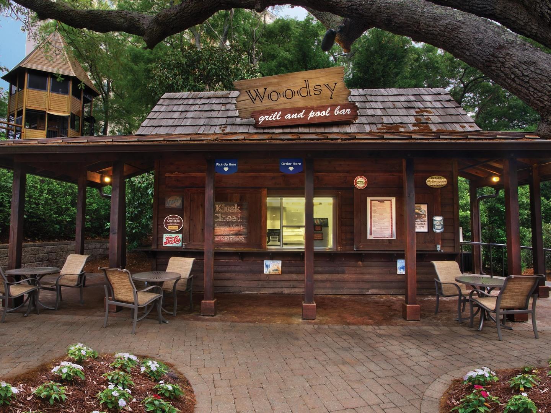 Marriott's OceanWatch Woodsy Grill Pool Bar. Marriott's OceanWatch is located in Myrtle Beach, South Carolina United States.