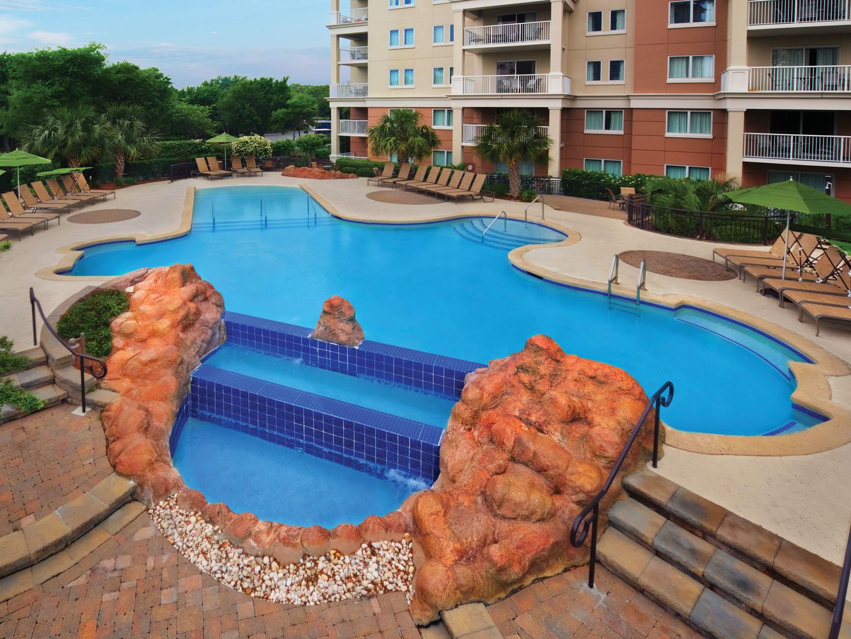 Marriott's OceanWatch Serenity Quiet Pool. Marriott's OceanWatch is located in Myrtle Beach, South Carolina United States.