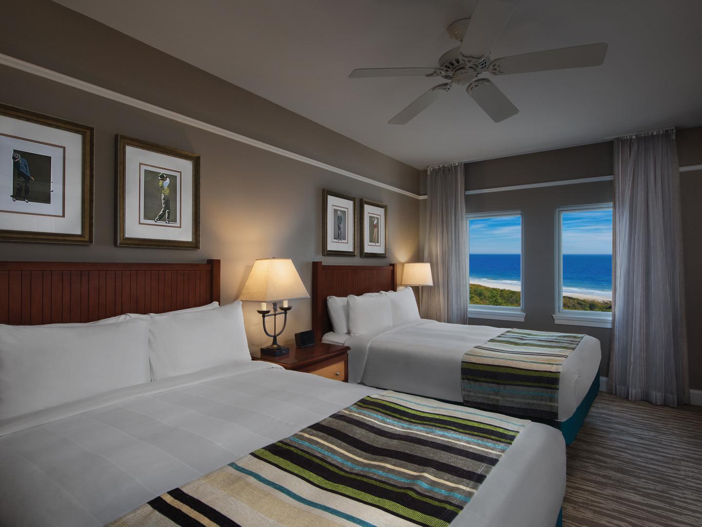 Marriott's OceanWatch Villa Guest Bathroom. Marriott's OceanWatch is located in Myrtle Beach, South Carolina United States.