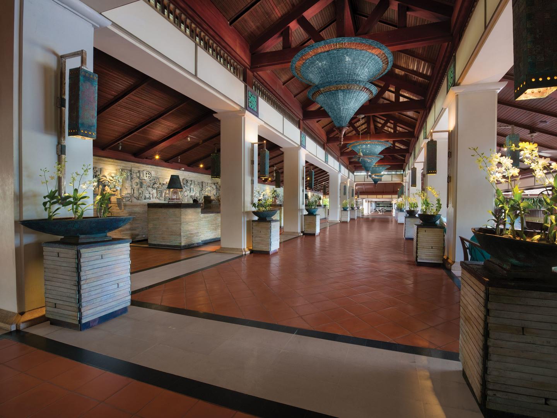 Marriott's Phuket Beach Club Lobby. Marriott's Phuket Beach Club is located in Mai Khao Beach, Phuket Thailand.
