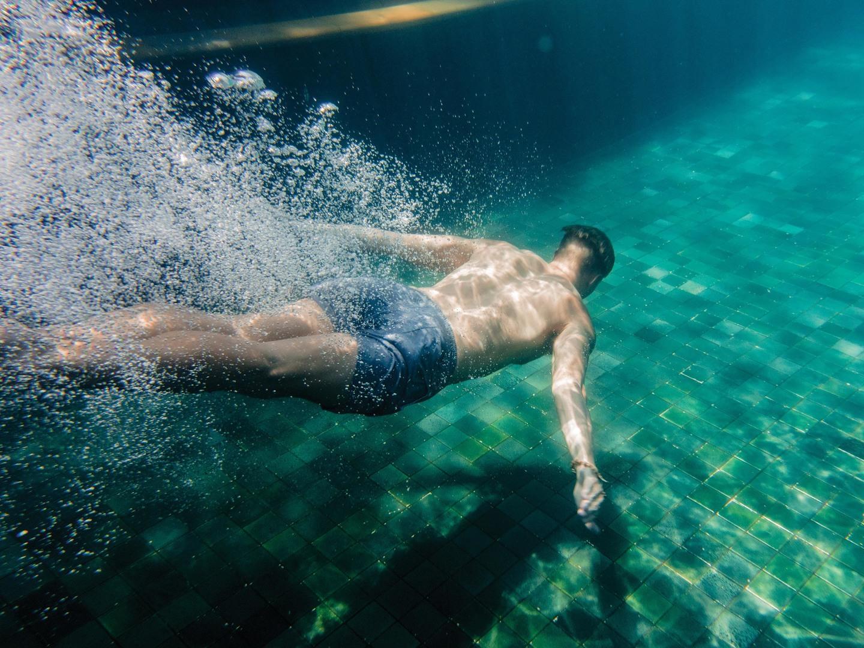 Marriott's Phuket Beach Club North Pool Plunge. Marriott's Phuket Beach Club is located in Mai Khao Beach, Phuket Thailand.