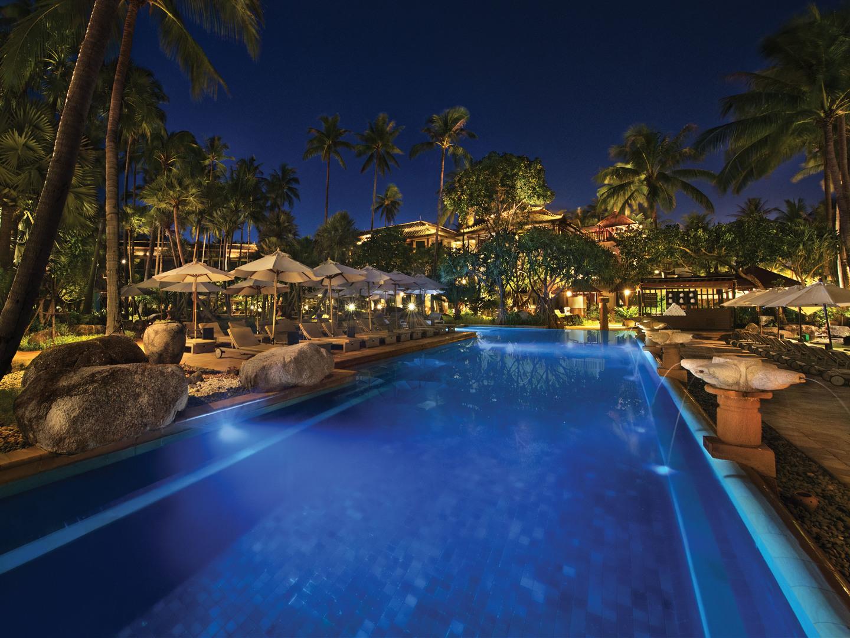 Marriott's Phuket Beach Club North Pool. Marriott's Phuket Beach Club is located in Mai Khao Beach, Phuket Thailand.