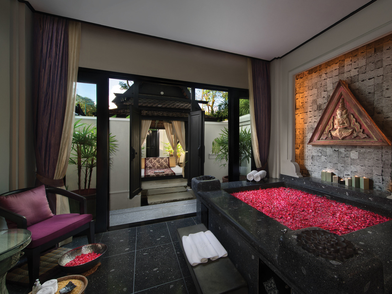 Marriott's Phuket Beach Club Mandara Spa. Marriott's Phuket Beach Club is located in Mai Khao Beach, Phuket Thailand.