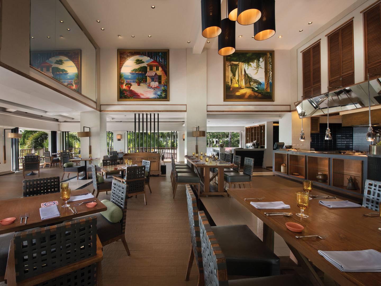 Marriott's Phuket Beach Club Cucina. Marriott's Phuket Beach Club is located in Mai Khao Beach, Phuket Thailand.