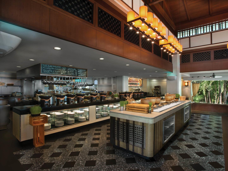 Marriott's Phuket Beach Club Marriott Café. Marriott's Phuket Beach Club is located in Mai Khao Beach, Phuket Thailand.