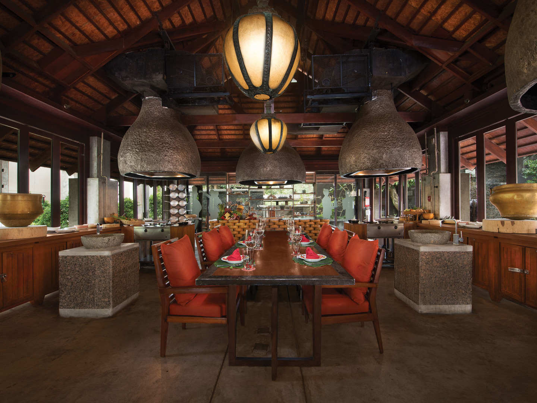 Marriott's Phuket Beach Club Ginja Cook-Cooking School. Marriott's Phuket Beach Club is located in Mai Khao Beach, Phuket Thailand.