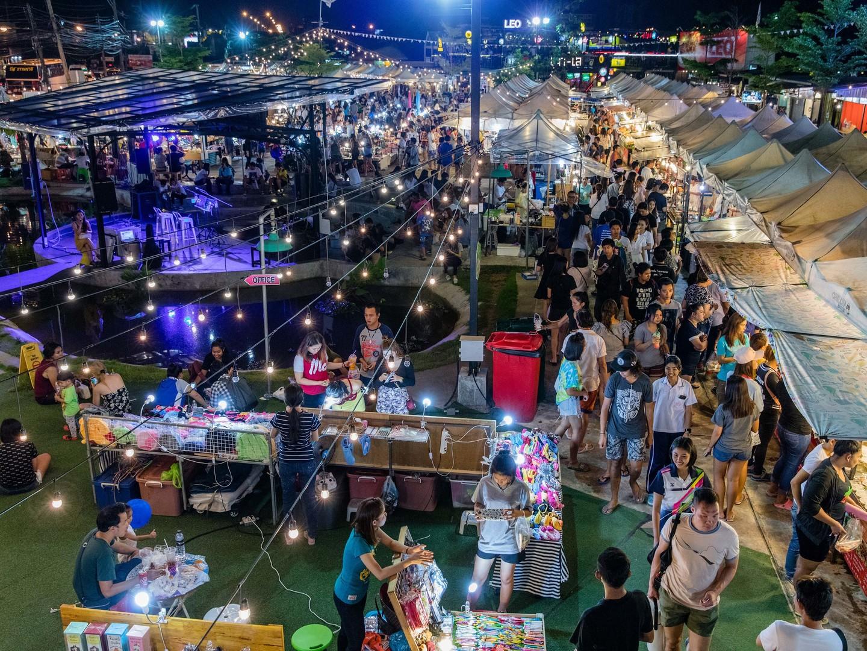 Marriott's Phuket Beach Club Chillva Market. Marriott's Phuket Beach Club is located in Mai Khao Beach, Phuket Thailand.