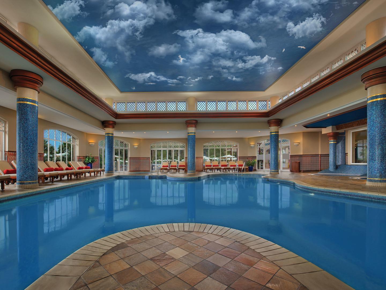 Marriott's Playa Andaluza Indoor Pool. Marriott's Playa Andaluza is located in Estepona, Malaga Spain.