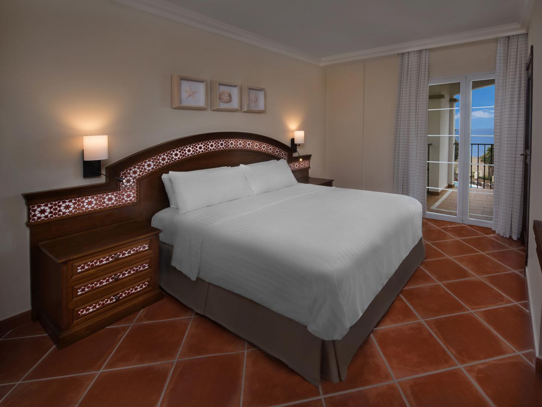 Marriott's Playa Andaluza Villa Master Bedroom. Marriott's Playa Andaluza is located in Estepona, Malaga Spain.