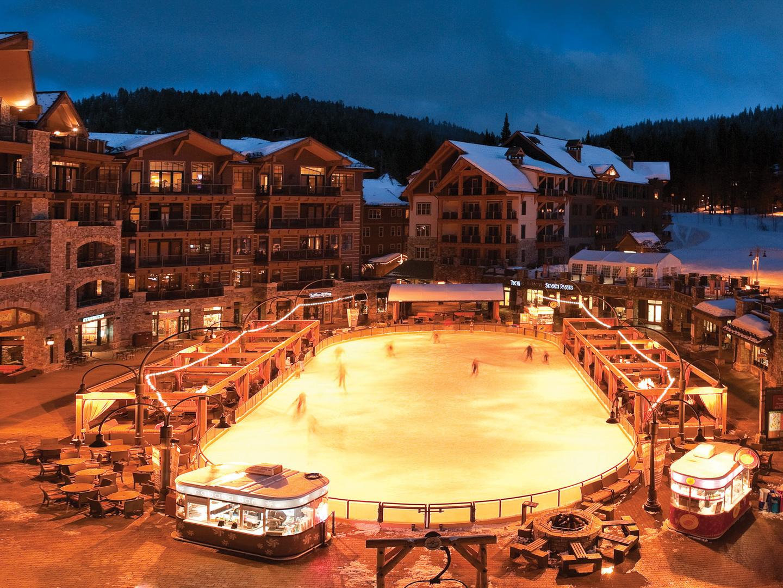 The Ritz-Carlton Club<span class='trademark'>®</span>, Lake Tahoe Skating. The Ritz-Carlton Club<span class='trademark'>®</span>, Lake Tahoe is located in Truckee, California United States.