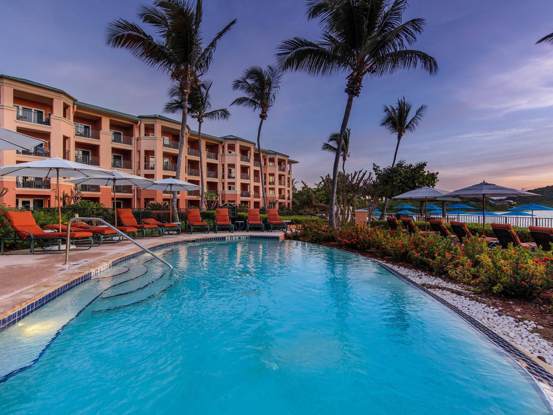 The Ritz-Carlton Club<span class='trademark'>®</span>, St. Thomas Serenity Adult Pool. The Ritz-Carlton Club<span class='trademark'>®</span>, St. Thomas is located in St. Thomas,  Virgin Island U.S..