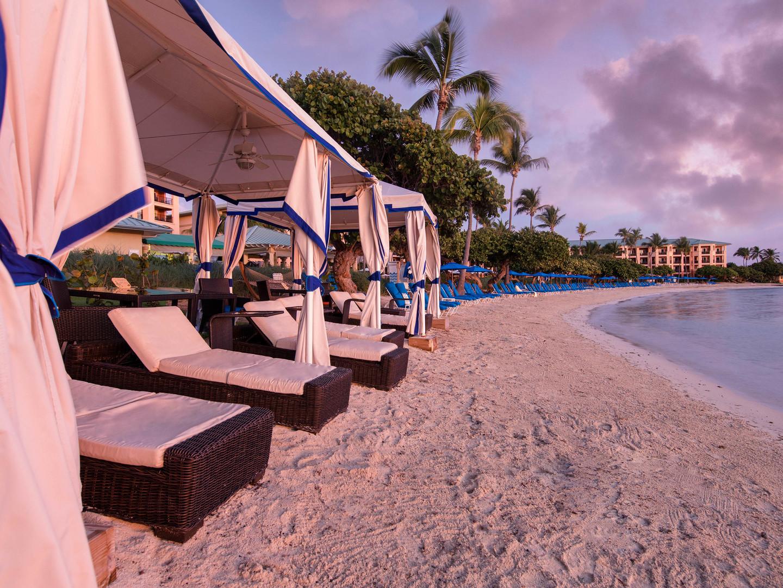 The Ritz-Carlton Club<span class='trademark'>®</span>, St. Thomas Club Cabanas. The Ritz-Carlton Club<span class='trademark'>®</span>, St. Thomas is located in St. Thomas,  Virgin Island U.S..