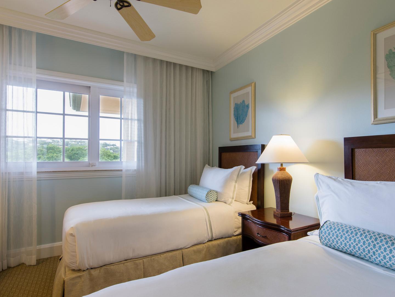 The Ritz-Carlton Club<span class='trademark'>®</span>, St. Thomas Residence 3rd Bedroom. The Ritz-Carlton Club<span class='trademark'>®</span>, St. Thomas is located in St. Thomas,  Virgin Island U.S..