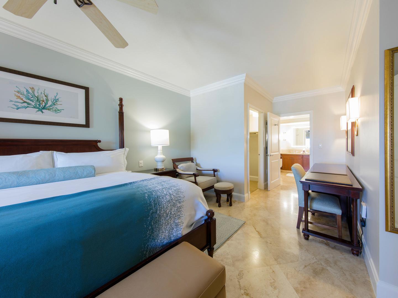 The Ritz-Carlton Club<span class='trademark'>®</span>, St. Thomas Residence Master Bedroom. The Ritz-Carlton Club<span class='trademark'>®</span>, St. Thomas is located in St. Thomas,  Virgin Island U.S..