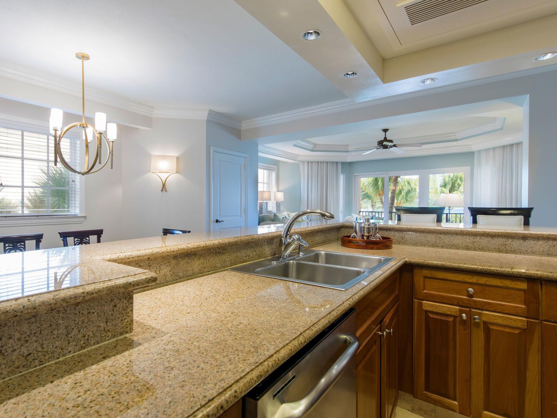 The Ritz-Carlton Club<span class='trademark'>®</span>, St. Thomas Residence Kitchen. The Ritz-Carlton Club<span class='trademark'>®</span>, St. Thomas is located in St. Thomas,  Virgin Island U.S..