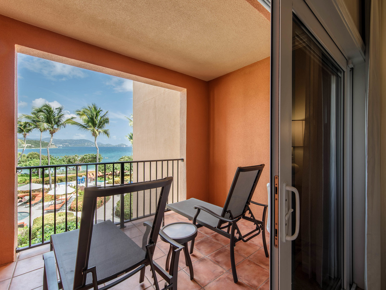 The Ritz-Carlton Club<span class='trademark'>®</span>, St. Thomas Residence Master Bedroom Balcony. The Ritz-Carlton Club<span class='trademark'>®</span>, St. Thomas is located in St. Thomas,  Virgin Island U.S..