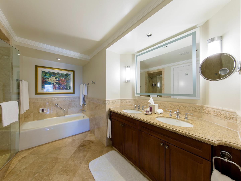 The Ritz-Carlton Club<span class='trademark'>®</span>, St. Thomas Residence Master Bathroom. The Ritz-Carlton Club<span class='trademark'>®</span>, St. Thomas is located in St. Thomas,  Virgin Island U.S..
