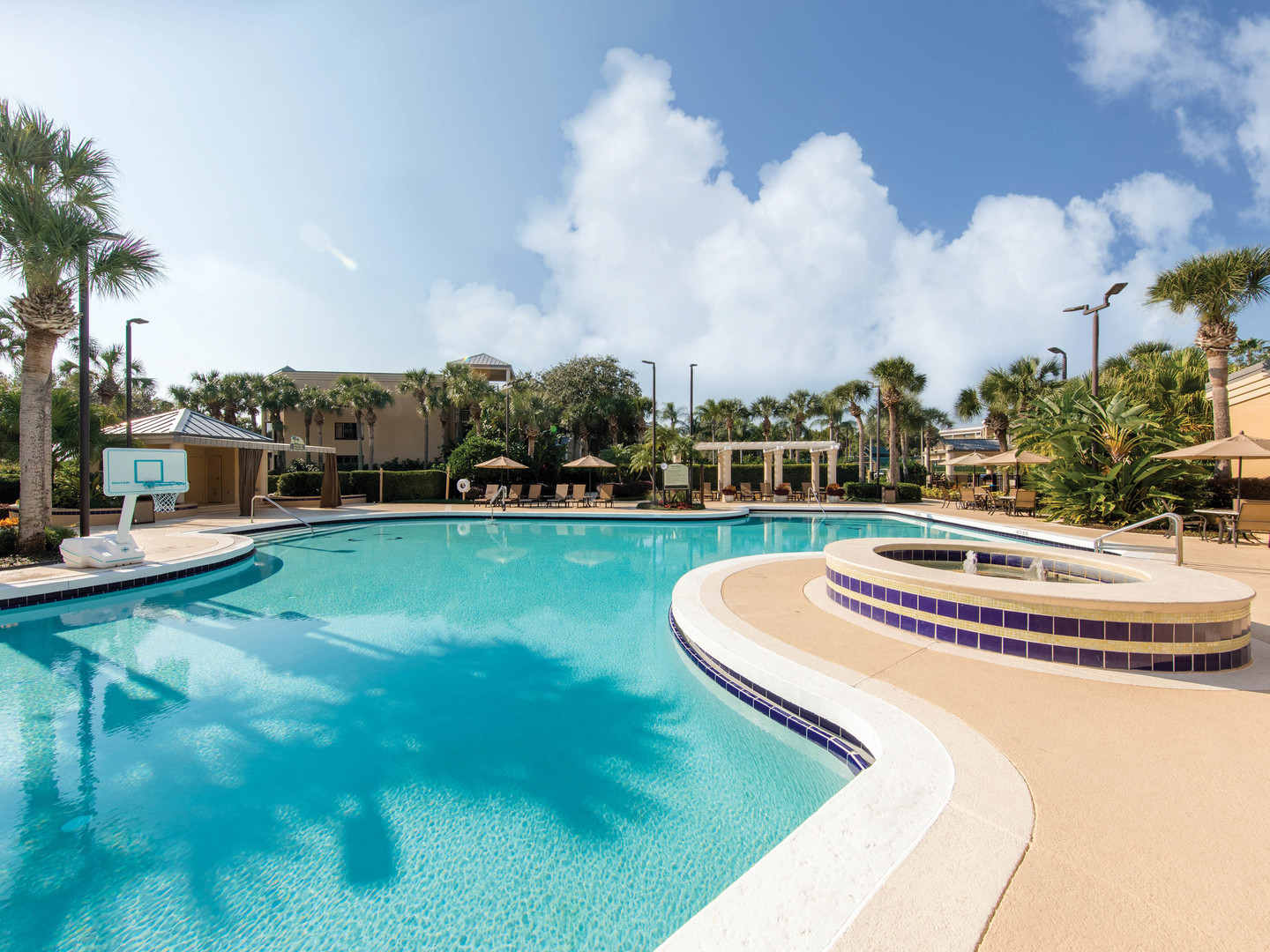 Marriott's Royal Palms Pool. Marriott's Royal Palms is located in Orlando, Florida United States.