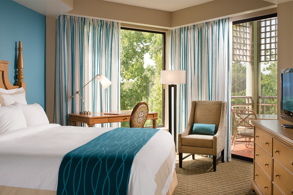Marriott's Royal Palms Villa Bedroom. Marriott's Royal Palms is located in Orlando, Florida United States.