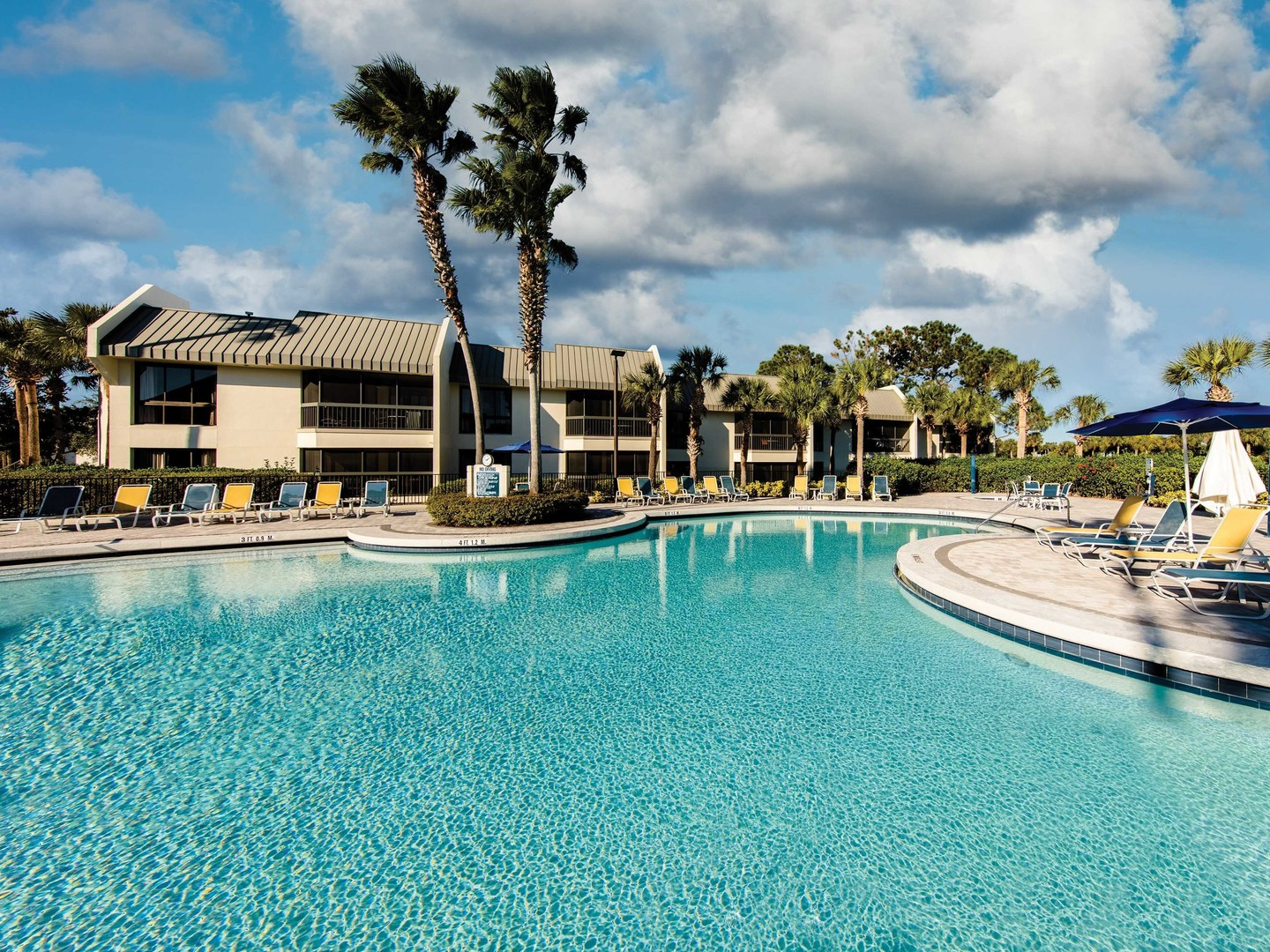 Marriott's Sabal Palms Main Pool. Marriott's Sabal Palms is located in Orlando, Florida United States.