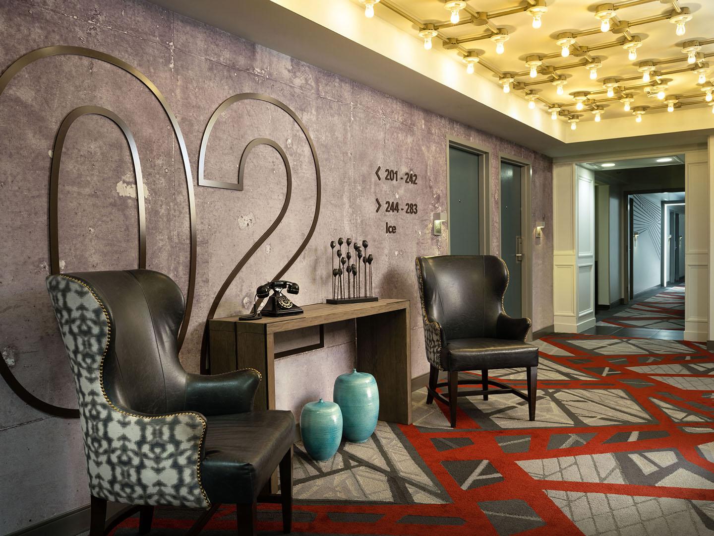 Marriott Vacation Club Pulse<span class='trademark'>®</span>, San Francisco 2nd Floor Elevator Lobby. Marriott Vacation Club Pulse<span class='trademark'>®</span>, San Francisco is located in San Francisco, California United States.