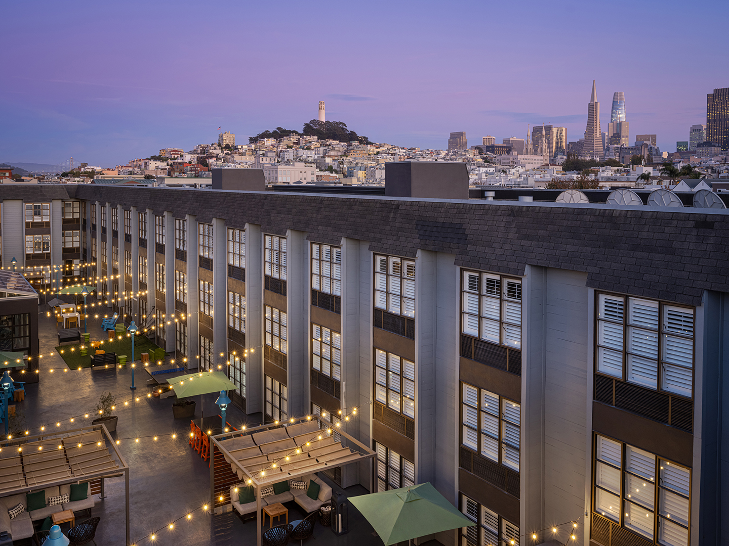 Marriott Vacation Club Pulse<span class='trademark'>®</span>, San Francisco Courtyard. Marriott Vacation Club Pulse<span class='trademark'>®</span>, San Francisco is located in San Francisco, California United States.