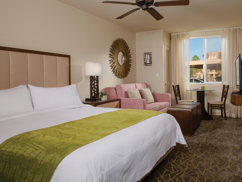 Marriott's Shadow Ridge Villa Bedroom (The Enclaves). Marriott's Shadow Ridge is located in Palm Desert, California United States.