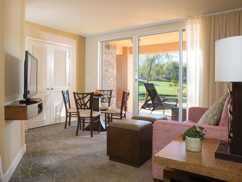 Marriott's Shadow Ridge Villa Living Room (The Enclaves). Marriott's Shadow Ridge is located in Palm Desert, California United States.