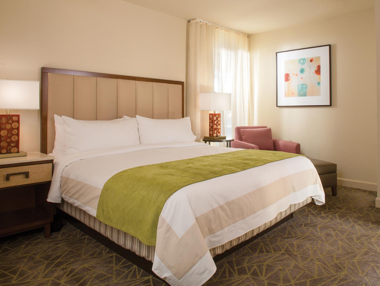 Marriott's Shadow Ridge Villa Master Bedroom (The Enclaves). Marriott's Shadow Ridge is located in Palm Desert, California United States.
