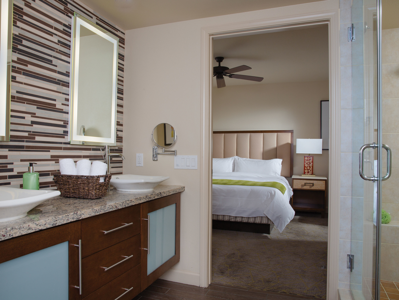 Marriott's Shadow Ridge Villa Master Bathroom (The Enclaves). Marriott's Shadow Ridge is located in Palm Desert, California United States.