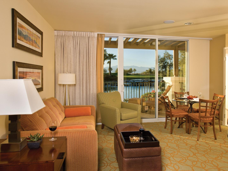 Marriott's Shadow Ridge Deluxe Lockoff Villa Living Room (The Enclaves). Marriott's Shadow Ridge is located in Palm Desert, California United States.